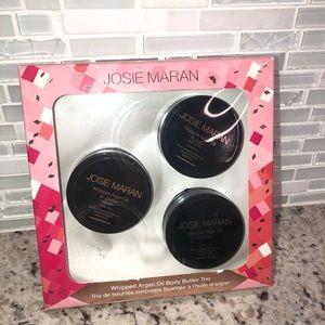 Josie Maran Whipped Argan Oil Three Pc Set